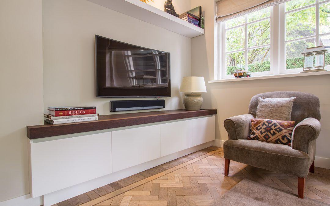 Wengé TV meubel
